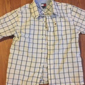 Tommy hilffiger dress shirt size size in kids